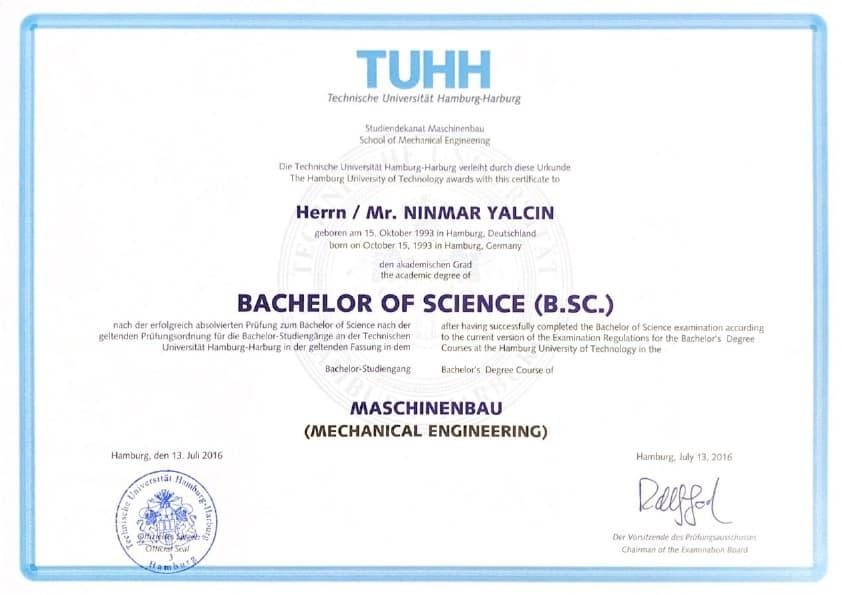 immocar bachelor